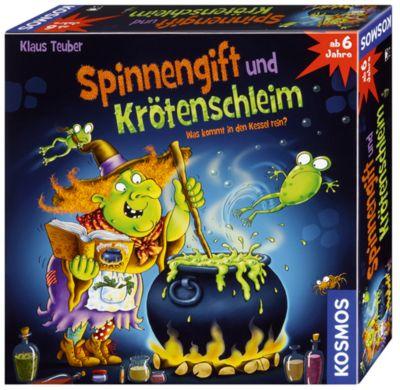 Kosmos Spinnengift und Krötenschleim, Kinderspiel, Klaus Teuber