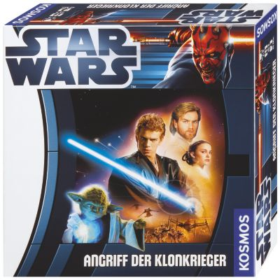 Kosmos Star Wars - Angriff der Klonkrieger, Familienspiel, Inka Brand, Markus Brand