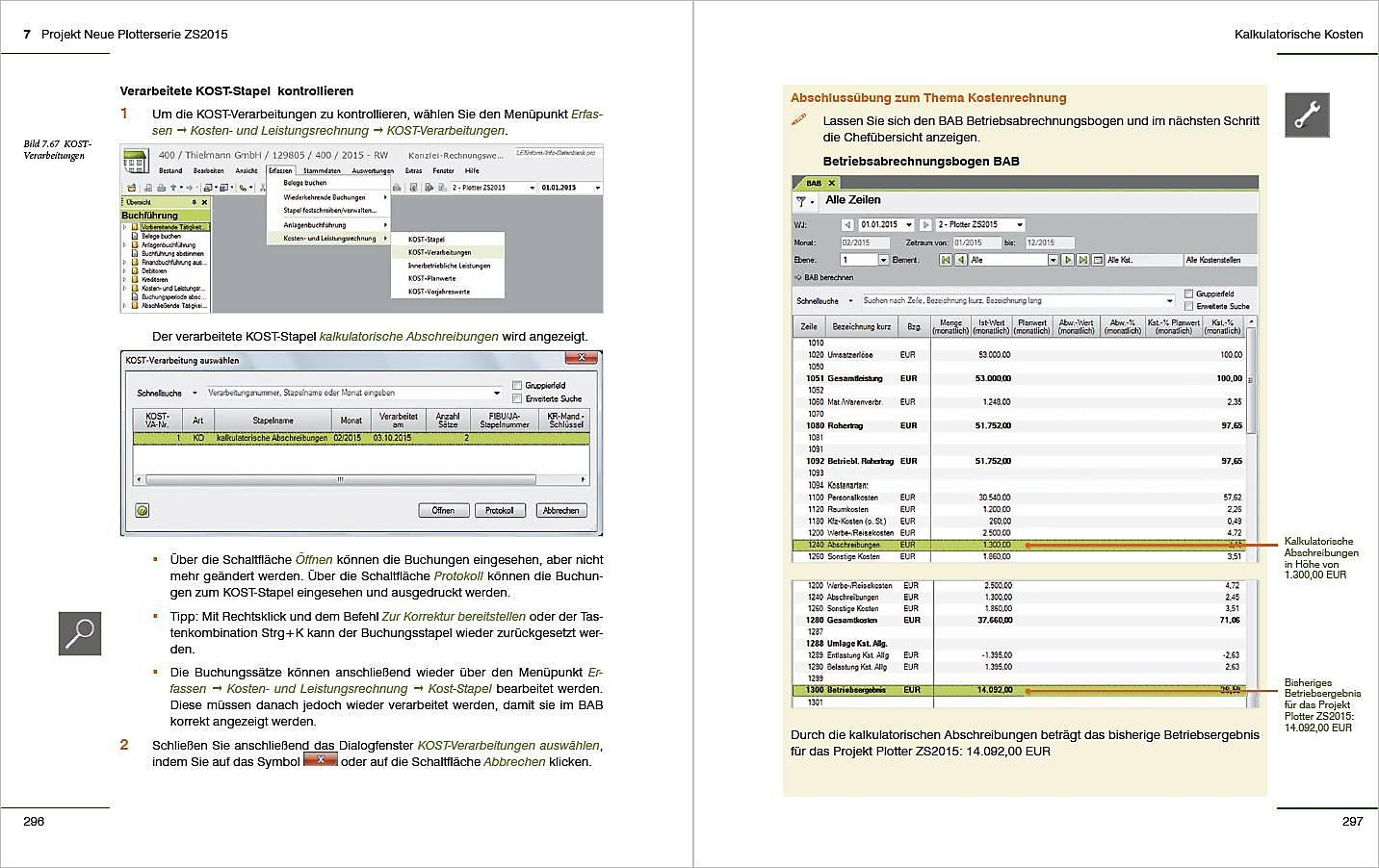 Kostenrechnung Mit Datev Kanzlei Rechnungswesen Pro Buch