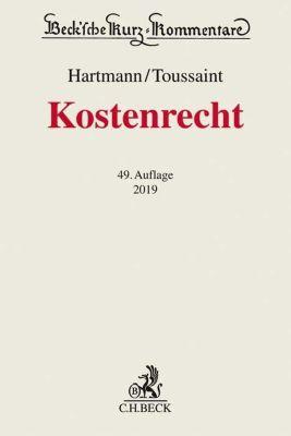 Kostenrecht, Kommentar - Peter Hartmann |