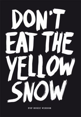 Kraft, M: Don't Eat the Yellow Snow, Marcus Kraft