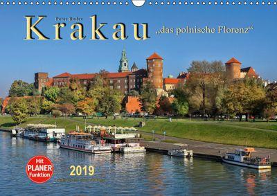 Krakau - das polnische Florenz (Wandkalender 2019 DIN A3 quer), Peter Roder