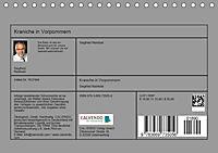 Kraniche in Vorpommern (Tischkalender 2019 DIN A5 quer) - Produktdetailbild 13