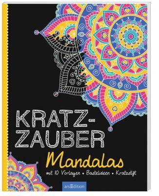 Kratzzauber Mandalas