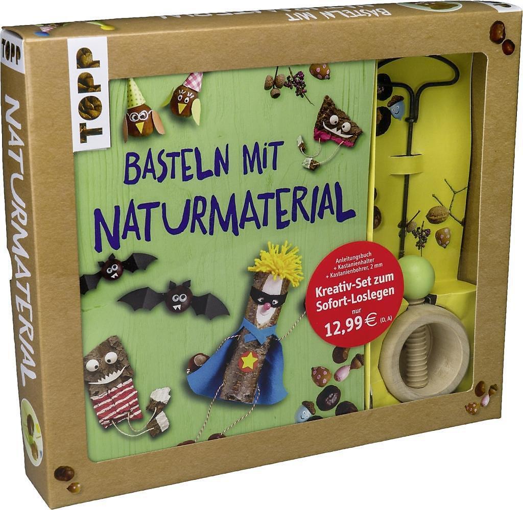 Kreativ Set Basteln Mit Naturmaterial Buch Portofrei Weltbild De