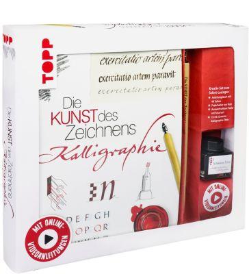 Kreativ-Set Die Kunst des Zeichnens - Kalligraphie, Andreas Lux