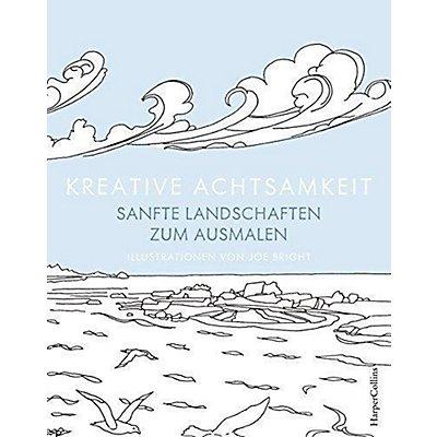 Kreative Achtsamkeit Sanfte Landschaften Zum Ausmalen Buch