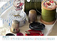 Kreative Handarbeiten 2019. Impressionen von Mensch und Material (Wandkalender 2019 DIN A4 quer) - Produktdetailbild 1
