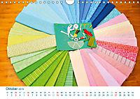 Kreative Handarbeiten 2019. Impressionen von Mensch und Material (Wandkalender 2019 DIN A4 quer) - Produktdetailbild 10