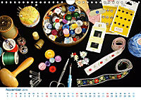 Kreative Handarbeiten 2019. Impressionen von Mensch und Material (Wandkalender 2019 DIN A4 quer) - Produktdetailbild 11