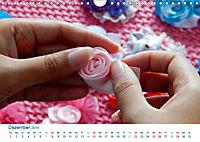 Kreative Handarbeiten 2019. Impressionen von Mensch und Material (Wandkalender 2019 DIN A4 quer) - Produktdetailbild 12