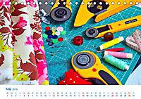 Kreative Handarbeiten 2019. Impressionen von Mensch und Material (Tischkalender 2019 DIN A5 quer) - Produktdetailbild 5