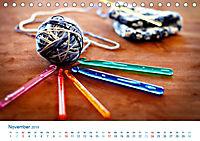 Kreative Handarbeiten 2019. Impressionen von Mensch und Material (Tischkalender 2019 DIN A5 quer) - Produktdetailbild 11