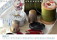 Kreative Handarbeiten 2019. Impressionen von Mensch und Material (Tischkalender 2019 DIN A5 quer) - Produktdetailbild 1