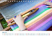 Kreative Handarbeiten 2019. Impressionen von Mensch und Material (Tischkalender 2019 DIN A5 quer) - Produktdetailbild 6