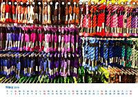 Kreative Handarbeiten 2019. Impressionen von Mensch und Material (Tischkalender 2019 DIN A5 quer) - Produktdetailbild 3