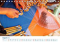 Kreative Handarbeiten 2019. Impressionen von Mensch und Material (Tischkalender 2019 DIN A5 quer) - Produktdetailbild 8