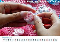 Kreative Handarbeiten 2019. Impressionen von Mensch und Material (Tischkalender 2019 DIN A5 quer) - Produktdetailbild 12