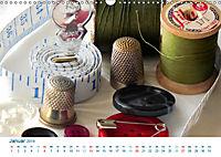 Kreative Handarbeiten 2019. Impressionen von Mensch und Material (Wandkalender 2019 DIN A3 quer) - Produktdetailbild 1