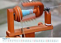 Kreative Handarbeiten 2019. Impressionen von Mensch und Material (Wandkalender 2019 DIN A3 quer) - Produktdetailbild 8