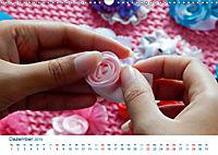 Kreative Handarbeiten 2019. Impressionen von Mensch und Material (Wandkalender 2019 DIN A3 quer) - Produktdetailbild 12