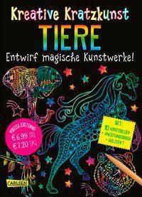Kreative Kratzkunst: Tiere, Anton Poitier