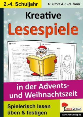 Kreative Lesespiele in der Advents- und Weihnachtszeit, Ulrike Stolz, Lynn-Sven Kohl