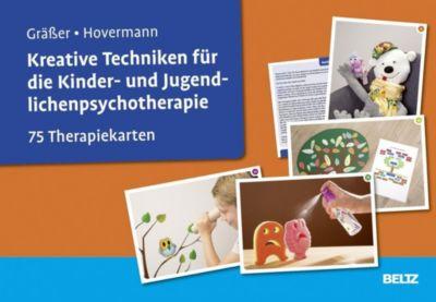 Kreative Techniken für die Kinder- und Jugendlichenpsychotherapie, 75 Therapiekarten