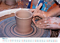 Kreatives Basteln 2019. Impressionen von Mensch und Material (Wandkalender 2019 DIN A3 quer) - Produktdetailbild 5