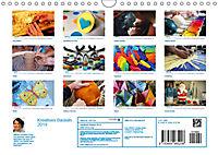Kreatives Basteln 2019. Impressionen von Mensch und Material (Wandkalender 2019 DIN A4 quer) - Produktdetailbild 13
