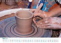 Kreatives Basteln 2019. Impressionen von Mensch und Material (Wandkalender 2019 DIN A4 quer) - Produktdetailbild 5