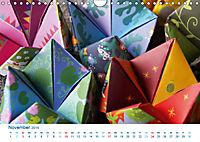 Kreatives Basteln 2019. Impressionen von Mensch und Material (Wandkalender 2019 DIN A4 quer) - Produktdetailbild 11
