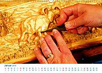 Kreatives Basteln 2019. Impressionen von Mensch und Material (Wandkalender 2019 DIN A3 quer) - Produktdetailbild 1