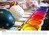 Kreatives Basteln 2019. Impressionen von Mensch und Material (Wandkalender 2019 DIN A3 quer) - Produktdetailbild 4