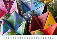 Kreatives Basteln 2019. Impressionen von Mensch und Material (Wandkalender 2019 DIN A3 quer) - Produktdetailbild 11