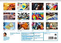 Kreatives Basteln 2019. Impressionen von Mensch und Material (Wandkalender 2019 DIN A3 quer) - Produktdetailbild 13