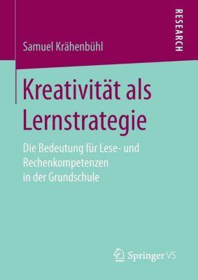 Kreativität als Lernstrategie - Samuel Krähenbühl pdf epub
