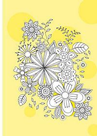 Kreativset: Malbuch Natur + 12 Farbstifte bicolor (24 Farben) - Produktdetailbild 9