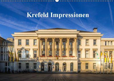 Krefeld Impressionen (Wandkalender 2019 DIN A2 quer), Michael Fahrenbach