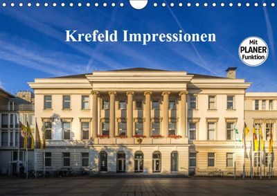 Krefeld Impressionen (Wandkalender 2019 DIN A4 quer), Michael Fahrenbach