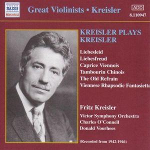 Kreisler Spielt Kreisler, Fritz Kreisler