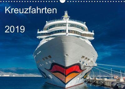 Kreuzfahrten 2019 (Wandkalender 2019 DIN A3 quer), strandmann@online. de