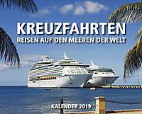 Kreuzfahrten Kal. 2019  + 2 Blechschilder - Produktdetailbild 1