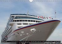 Kreuzfahrtschiffe in Hamburg (Wandkalender 2019 DIN A4 quer) - Produktdetailbild 1