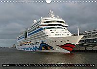 Kreuzfahrtschiffe in Hamburg (Wandkalender 2019 DIN A4 quer) - Produktdetailbild 4