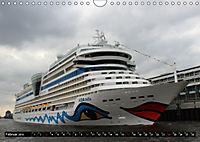 Kreuzfahrtschiffe in Hamburg (Wandkalender 2019 DIN A4 quer) - Produktdetailbild 2