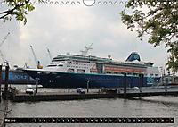 Kreuzfahrtschiffe in Hamburg (Wandkalender 2019 DIN A4 quer) - Produktdetailbild 5