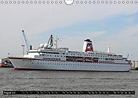 Kreuzfahrtschiffe in Hamburg (Wandkalender 2019 DIN A4 quer) - Produktdetailbild 8