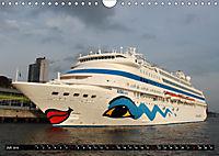Kreuzfahrtschiffe in Hamburg (Wandkalender 2019 DIN A4 quer) - Produktdetailbild 7