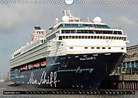 Kreuzfahrtschiffe in Hamburg (Wandkalender 2019 DIN A4 quer) - Produktdetailbild 9